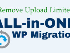 如何移除All in One WP Migration插件512M的上传限制